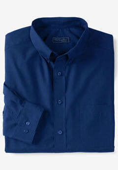 KS Signature No Hassle® Long-Sleeve Button-Down Dress Shirt,