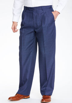 KS Signature Easy Movement® Pleat-Front Expandable Dress Pants,