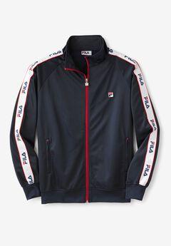 FILA® Taped Logo Track Jacket,