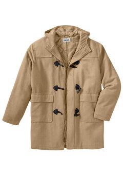 Toggle Parka Coat, CAMEL