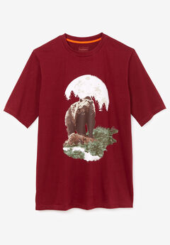 Boulder Creek® Nature Graphic Tee, BEAR