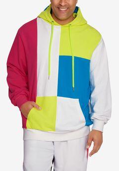 MVP Collections® Neon Color-Block Hoodie,