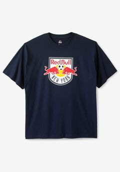 MLS Logo Tee, NY RED BULLS