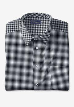 KS Signature No Hassle® Long-Sleeve Dress Shirt, BLACK CHECK