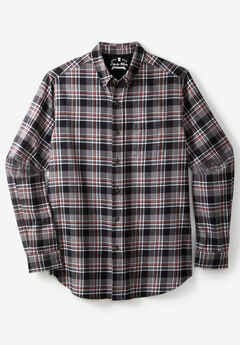 Liberty Blues® Plaid Flannel Shirt, STEEL PLAID