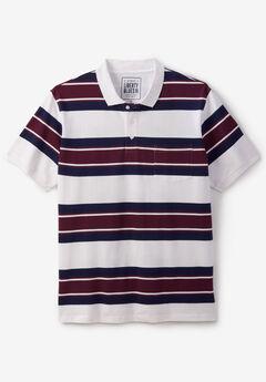Liberty Blues® Pocket Piqué Polo Shirt, RUSSET RUGBY
