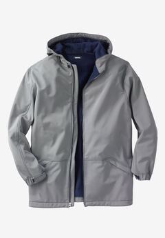 Fleece-Lined Rain Coat,