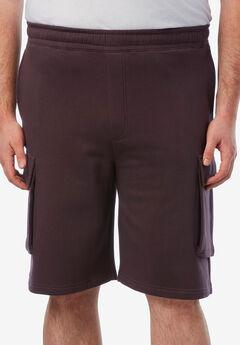 Fleece 10' Cargo Shorts ,