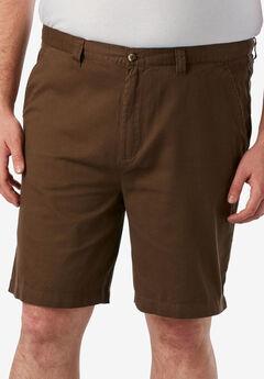Knockarounds® 8&#34 Full Elastic Plain Front Shorts,