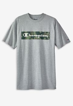Champion® Camo Screenprint T-Shirt,