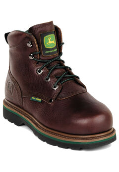 "John Deere 6"" Steel Toe Lace Boot		,"