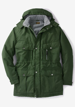 Boulder Creek® Expedition Parka Coat, NEW OLIVE