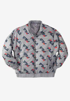 FILA® All Over Logo Puffer Jacket,
