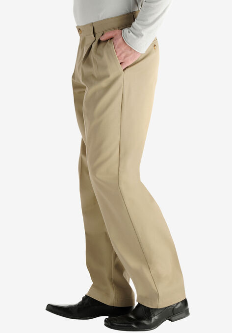 Lee® Custom Fit Relaxed Fit Pleated Front Pants