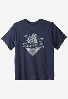 Nature Graphic Tee by Boulder Creek®, ROCKIES