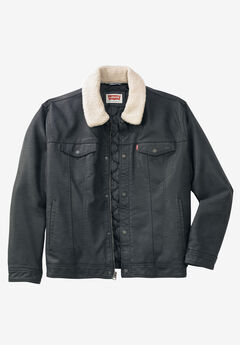Classic Faux Leather Trucker Jacket by Levi's®,