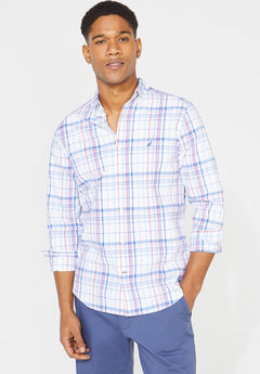 Nautica® Navtech Poplin Button-Down Shirt,