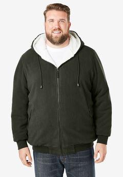 Explorer Plush Fleece Hoodie,