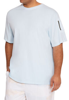 MVP Collections® Cargo Zipper Pocket Tee,