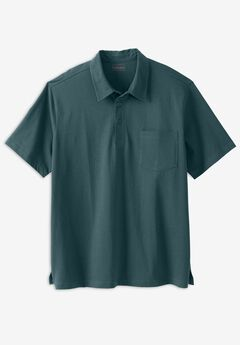 Heavyweight Jersey Polo Shirt,