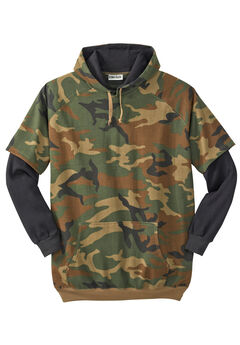 Thermal Lined Hangdown Hoodie by Boulder Creek®, CAMO
