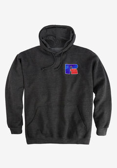 Chest Logo Hoodie by Russell Athletic®,