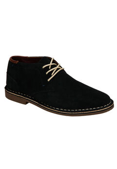 REACTION Kenneth Cole® Desert Sun Suede Chukka Boot, NAVY SUEDE