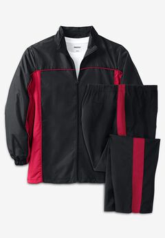 Long Sleeve Colorblock Tracksuit,