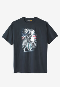 July 4th Graphic Tee, AMERICAN WOLVES