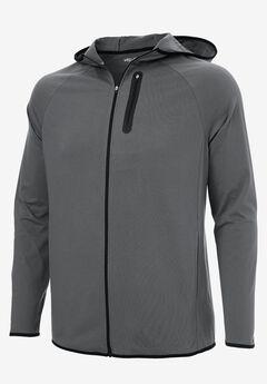 Comfort Cool Moisture Wicking Jacket by KS Sport™, STEEL