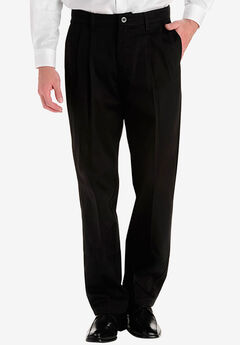 Lee® Custom Fit Relaxed Fit Pleated Front Pants,