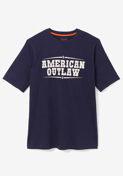 Boulder Creek® Nature Graphic Tee, OUTLAW