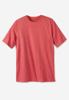 Boulder Creek® Heavyweight Jersey Crewneck T-Shirt,