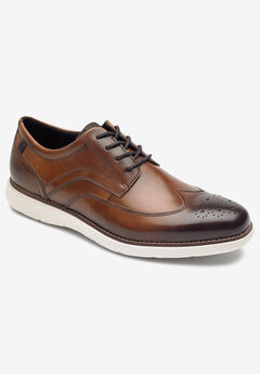 Rockport® Garrett Wingtip Shoes ,