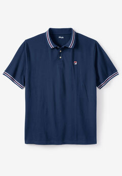Polo Shirt by Fila®, NAVY
