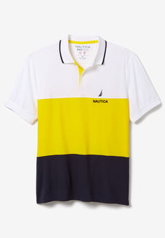 Nautica® Classic Fit Color Block Polo Shirt,