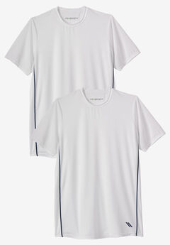 KS Sport™ Power Cool Crewneck Tees 2-Pack,