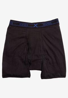 Hanes® X-Temp® Boxer Briefs 3-Pack Underwear, BLACK