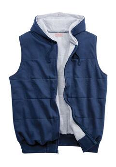 Thermal Lined Fleece Vest by Boulder Creek®, NAVY