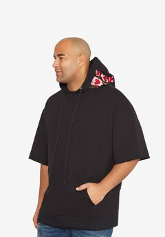 Short-Sleeve Pullover Hoodie by MVP Collections®,