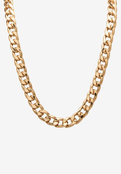 "30"" Curb-Link Necklace ,"