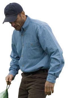 Long-Sleeve Denim Shirt by Wrangler®,