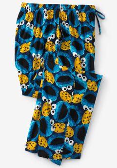 Licensed Novelty Pajama Pants, COOKIE MONSTER MURANO