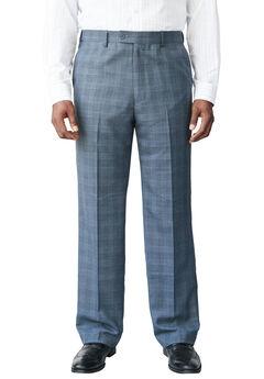 KS Signature® Easy Movement® Plain Front Expandable Suit Separate Dress Pants,