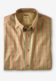 Wrinkle Resistant Short-Sleeve Sport Shirt,