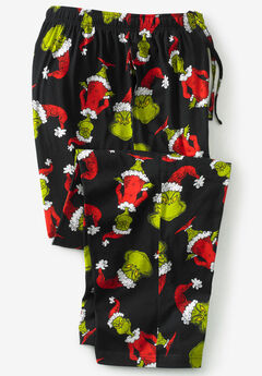 Holiday Pajama Pants, GRINCH HOLIDAY