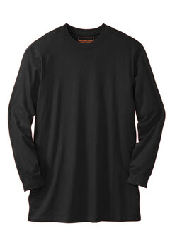Boulder Creek™ Heavyweight Long-Sleeve No Pocket Crewneck Tee,