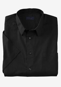 No Hassle® Short-Sleeve Dress Shirt by KS Signature®,