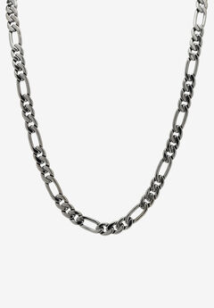 Black Figaro-Link Necklace ,
