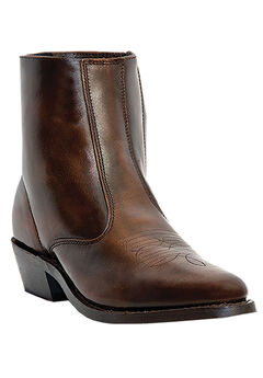 "Laredo 7"" Leather Zip Western Boots,"